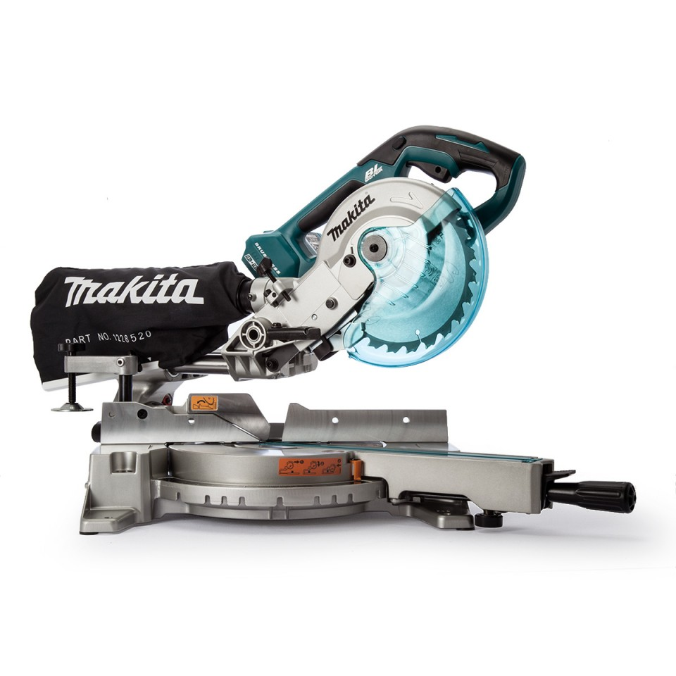 Makita DLS714Z Afkortzaag 190mm 2 x 18V body