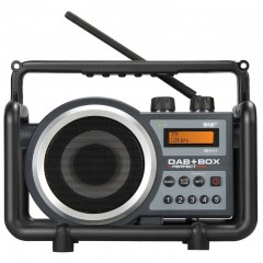 Perfect DAB+ BOX Bouwradio FM DAB AUX-IN Oplaadbaar