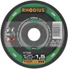 Doorslijpschijf (steen) XT66 Rhodius 204624 Diameter 125 mm 1 stuk