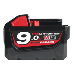 Milwaukee M18 B9 18V Li-Ion accu 9Ah 18V
