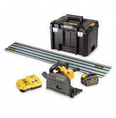 DeWALT DCS520T2R-QW XR Flexvolt Invalzaag set 165mm met 2 accu