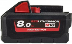 Milwaukee M18 HB8 Accu High Output 18V 8.0Ah 4932471070 HB8