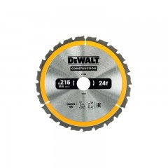 Dewalt DT1952 zaagblad 216mm x 30mm | 24 tands DT1952-QZ